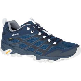 Merrell Moab FST GTX Shoes Men Navy/White